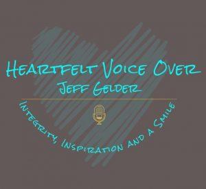 Heartfelt logo with heart background